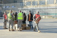 U.S. Marines Join the Recovery Efforts at Coney Island