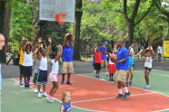 Classic Playground Court of Dreams Ribbon Cutting