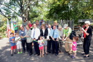 Neufeld Playground Ribbon Cutting