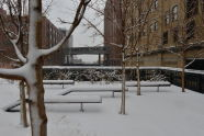 Winter Snow at The High Line
