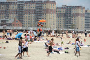 Enjoying Summer at Rockaway Beach