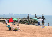 Summer at Cedar Grove Beach