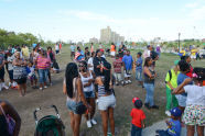The Scene at O'Donohue Field During National Night Out
