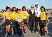 Stan's Pepper Steppers Support National Night Out