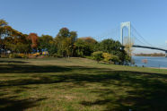 Francis Lewis Park during the fall