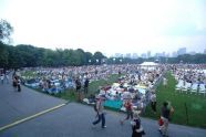The New York Philharmonic performs on the Great Lawn