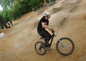 Fun on the BMX track