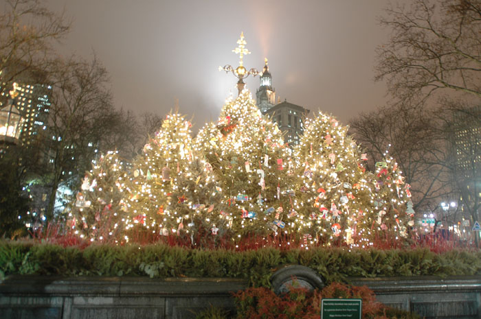 History Of Holiday Celebrations In Parks Nyc Parks