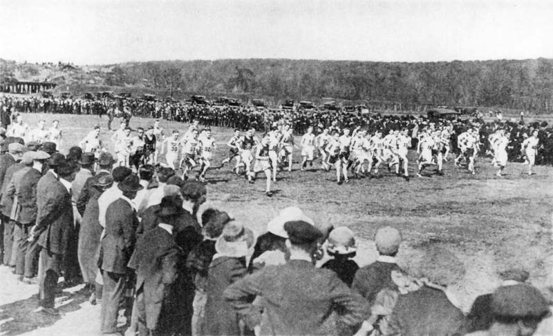 Long Distance Races Were Popular In New York Long Before The Birth Of The New