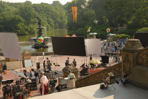 Cinematic parks nyc parks for Movies at the terrace