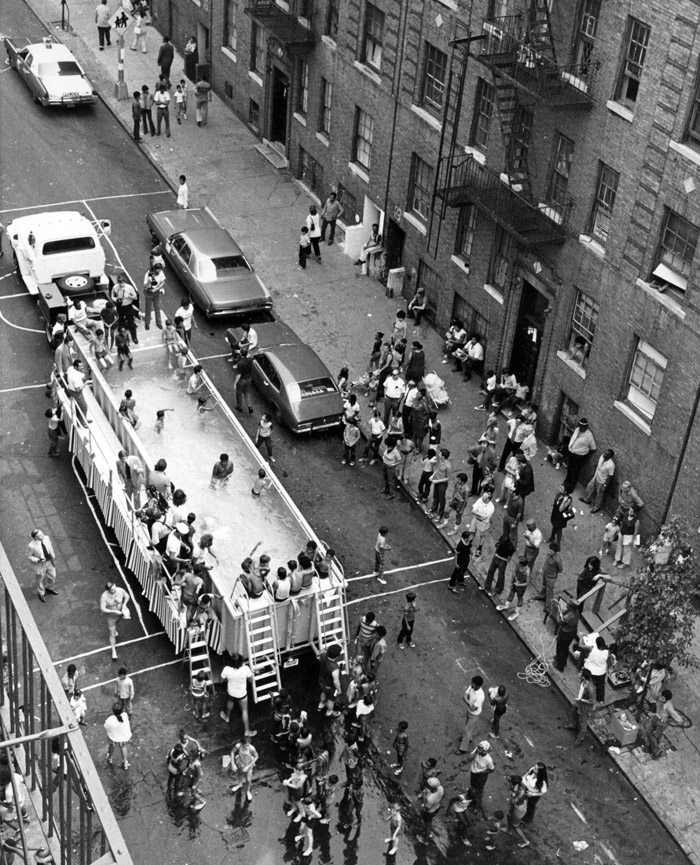 """In addition, """"Swimmobiles"""" began during the Heckscher administration ..."""