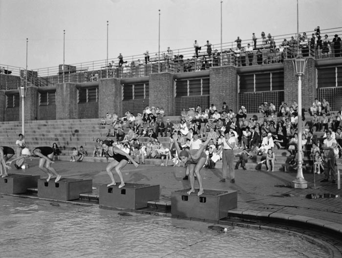 History of recreation in parks nyc parks for Brooklyn college swimming pool membership