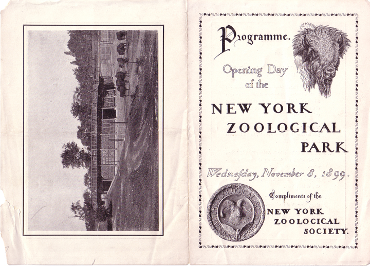 History Of The Bronx Zoo Nyc Parks