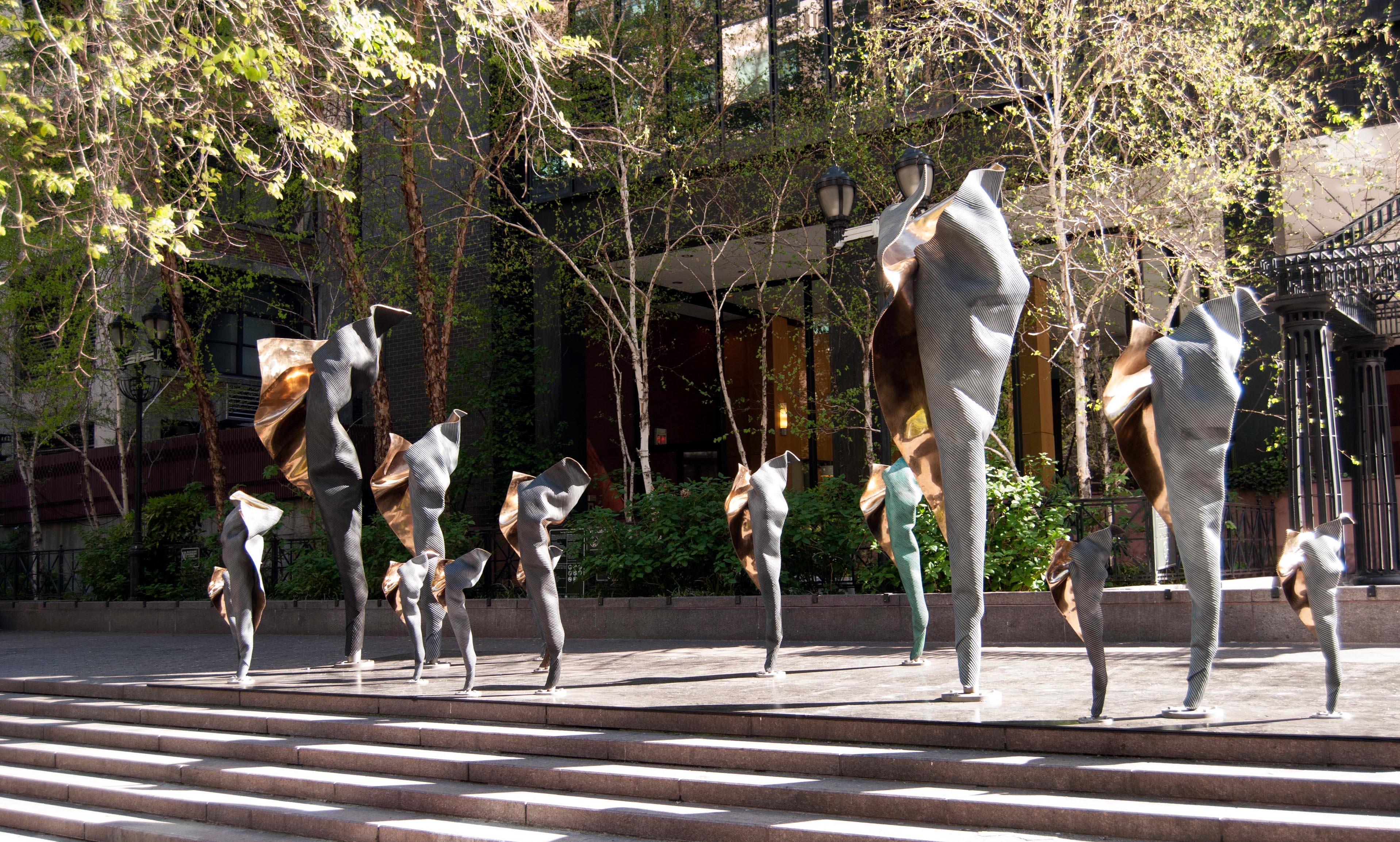 Image result for individuals sculpture by andrew rogers