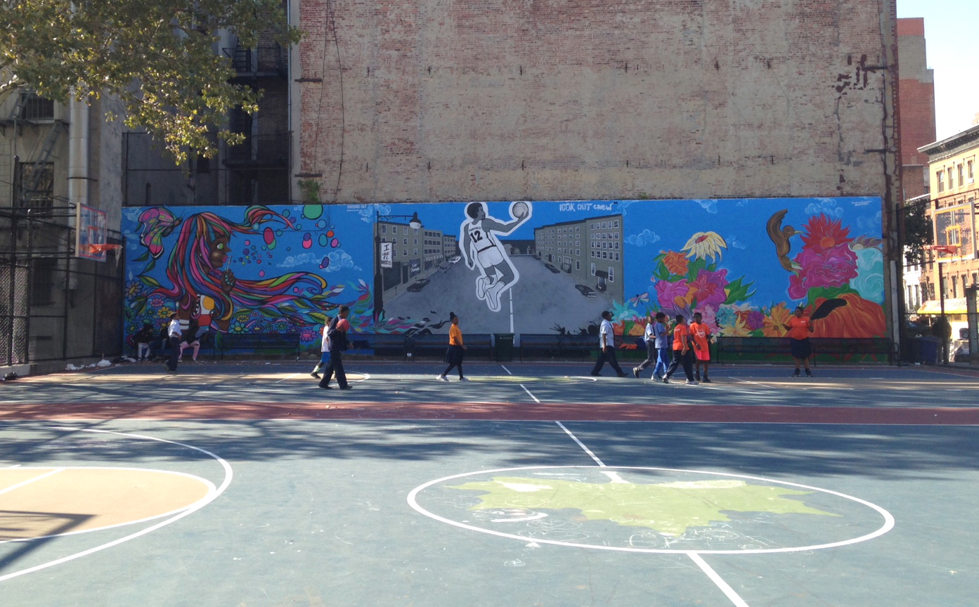 East Harlem at Play, Courtesy of the Marcus Garvey Park Alliance.
