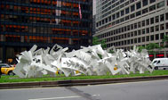 Albert Paley, Progression, Park Avenue, Courtesy of NYC Parks