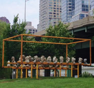 Ken Shih, Can love pervade space?, Photo by NYC Parks