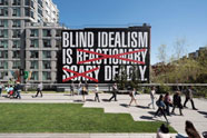 Barbara Kruger, Untitled (Blind Idealism Is...), 2016