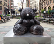 Gimhongsok, Bearlike Construction, Photo Courtesy of NYC Parks