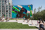 Rendering Courtesy of the artist, Blum & Poe, Los Angeles/New York/Tokyo, and Friends of the High Line. ©Henry Taylor