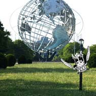 La Coronita at the Unisphere (rendering) by Mike Estabrook