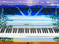 Deanna Aguinaga, piano for Pelham Bay Park: Orchard Beach, Bronx