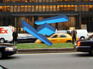 Rafael Barrios, Rendering of Acrobática at 53rd Street, courtesy of the artist.