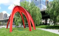 Roberto Franzone, Red Arches, courtesy of NYC Parks & Recreation