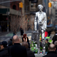 Rob Pruitt, The Andy Monument, 2011, Photograph by James Ewing, Courtesy Public Art Fund