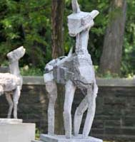 Ruth McKerrell, Ancient, 2010, aluminum