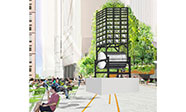 Jonathan Berger, Bell Machine, rendering courtesy of Friends of the High Line