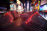 Situ Studio, Heartwalk, Photo by Ka-Man Tse, Times Square Alliance