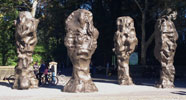 Sui Jianguo, Blind Portraits, photo courtesy of NYC Parks