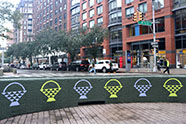 Folk Art on the Broadway Malls, courtesy of the Lincoln Square BID