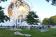 Image: Zaq Landsberg, Islands of the Unisphere, photo courtesy of the artist.