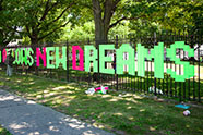Photo credit: Brooklyn Hi-Art! Machine, Fence Weaving, Michael Piña