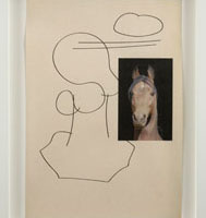 Uri Aran, Untitled (Horse Drawing)
