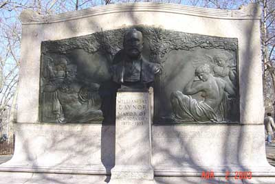 Photo of the William Gaynor Monument in Cadman Plaza Brooklyn