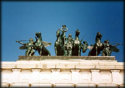 Photo of quadriga of Soldiers' and Sailors' Arch in Grand Army Plaza, Prospect Park, Brooklyn