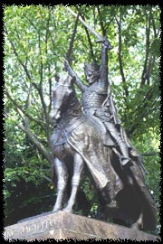 Photo of King Wladyslaw Jagiello statue in Central Park