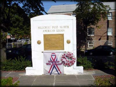 Photo of the Hillcrest Monument, Queens
